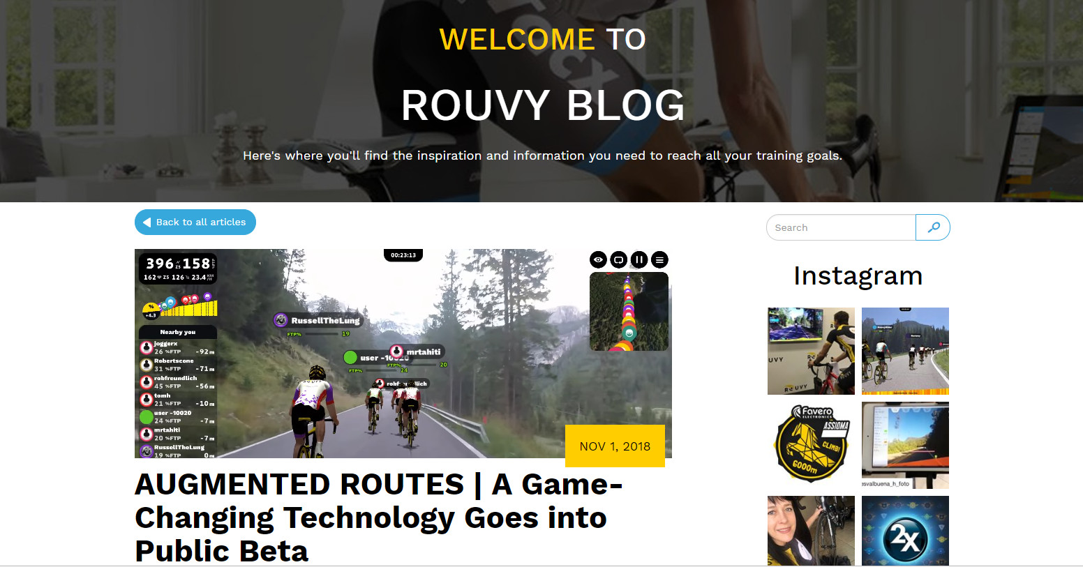 Rouvy | Blog - News from the world of indoor cycling