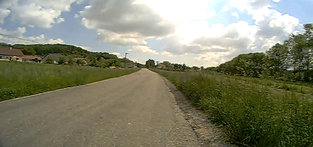 Zlín z Kudlovské doliny přes Napajedla